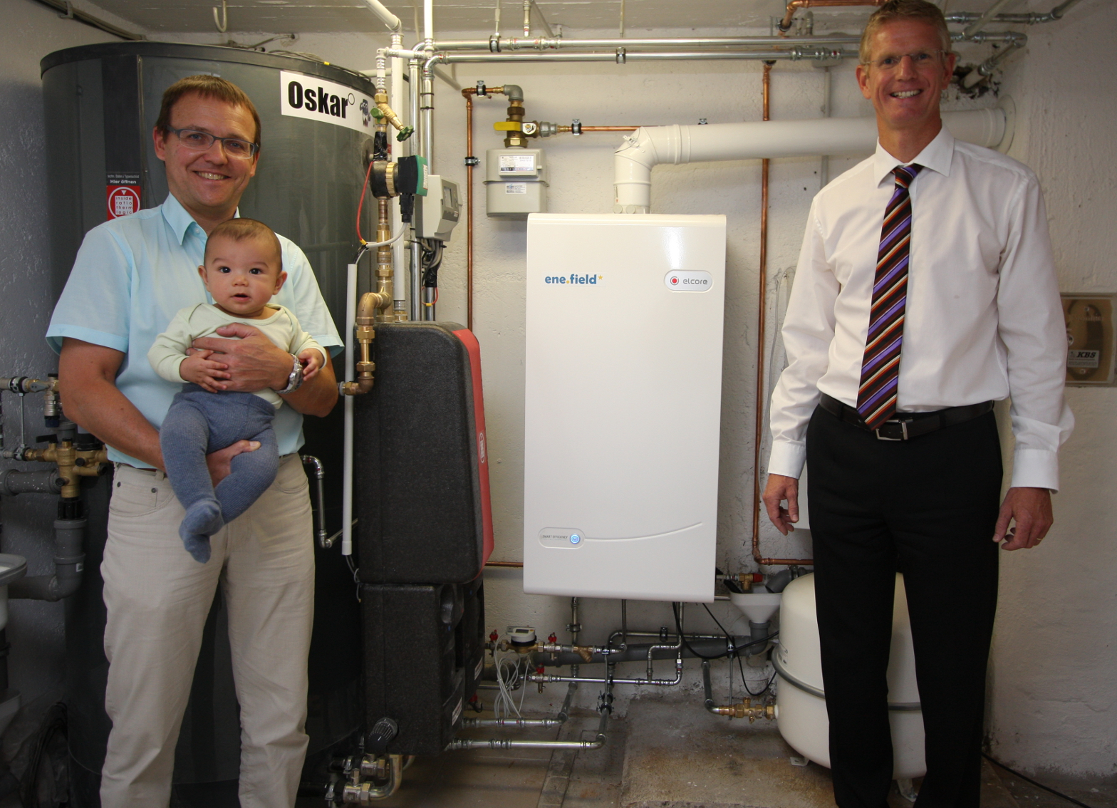 Installation of the Elcore 2400 system at family Aberl
