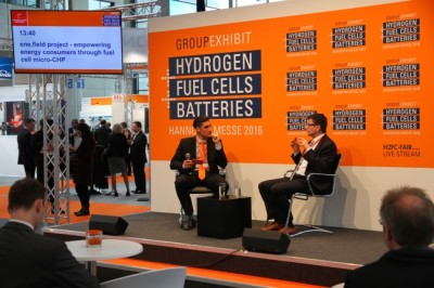 Al. Dauensteiner at Hannover Fair 2016