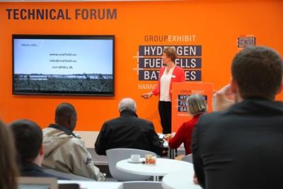 Eva Ravn Nielsen enefield presentation at Hannover 2016